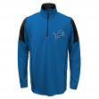 Detroit Lions Youth NFL Lightweight 1/4 Zip Pullover Long Sleeve Shirt