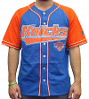 "New York Knicks Starter NBA Men's ""Double Play"" Baseball Jersey"