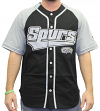 "San Antonio Spurs Starter NBA Men's ""Double Play"" Baseball Jersey"