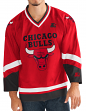 "Chicago Bulls Starter NBA Men's ""Crossover"" Hockey Jersey"