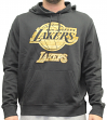 "Los Angeles Lakers Majestic NBA ""Court Tek Patch"" Hooded Sweatshirt"