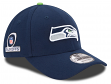 Seattle Seahawks New Era 9Forty NFL The League Playoff Patch Adjustable Hat