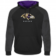 "Baltimore Ravens Majestic NFL ""Armor 2"" Men's Pullover Hooded Sweatshirt - Black"
