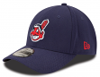 Cleveland Indians New Era MLB 39THIRTY Team Classic Flex Fit Hat - Navy