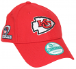 Kansas City Chiefs New Era 9Forty NFL The League Playoff Patch Adjustable Hat