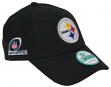 Pittsburgh Steelers New Era 9Forty NFL The League Playoff Patch Adjustable Hat