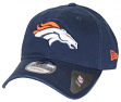 Denver Broncos New Era 9Twenty NFL Core Classic Adjustable Hat - Navy