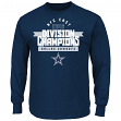Dallas Cowboys Majestic NFL 2016 NFC East Division Champions Men's L/S T-Shirt