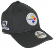 Pittsburgh Steelers New Era NFL 39THIRTY Team Classic Playoff Patch Flex Hat