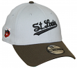 "St. Louis Browns New Era MLB 39THIRTY Cooperstown ""Classic"" Flex Fit Hat - Gray"