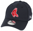 "Boston Red Sox New Era MLB 39THIRTY Cooperstown ""Classic"" Flex Fit Hat - Navy"
