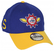 "Seattle Pilots New Era MLB 39THIRTY Cooperstown ""Classic"" Flex Fit Hat - Blue"