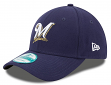 "Milwaukee Brewers New Era Youth MLB 9Forty ""The League"" Adjustable Hat"
