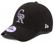 """Colorado Rockies New Era Youth MLB 9Forty """"The League"""" Adjustable Hat"""