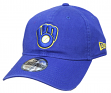 Milwaukee Brewers New Era 9Twenty MLB Core Classic Adjustable Hat - Blue