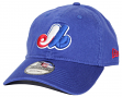 Montreal Expos New Era 9Twenty MLB Core Classic Adjustable Hat - Blue