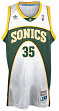 Kevin Durant Seattle Supersonics Adidas NBA Throwback Swingman White Jersey