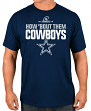 "Dallas Cowboys Majestic NFL ""How Bout Them Cowboys"" Men's Short Sleeve T-Shirt"