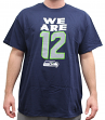 "Seattle Seahawks Majestic NFL ""We Are 12"" Men's Short Sleeve T-Shirt"