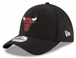 "Chicago Bulls New Era NBA 39THIRTY ""Team Classic"" Flex Fit Hat - Black"