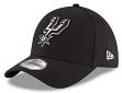 "San Antonio Spurs New Era NBA 39THIRTY ""Team Classic"" Flex Fit Hat - Black"