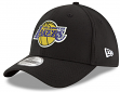 "Los Angeles Lakers New Era NBA 39THIRTY ""Team Classic"" Flex Fit Hat - Black"