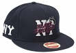 "New York Black Yankees New Era 9FIFTY Negro League ""Logo Coupled"" Snapback Hat"