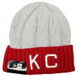 "Kansas City Monarchs New Era Negro League Baseball ""2T Aged"" Cuffed Knit Hat"