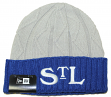 "St. Louis Stars New Era Negro League Baseball ""2T Aged"" Cuffed Knit Hat"