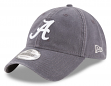 Alabama Crimson Tide New Era 9Twenty NCAA Core Classic Graphite Adjustable Hat