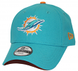 """Miami Dolphins New Era Youth NFL 9Forty """"The League"""" Adjustable Hat"""