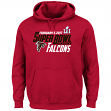 "Atlanta Falcons Majestic NFL Super Bowl LI 51 ""Hash Mark"" Hooded Sweatshirt"