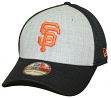 "San Francisco Giants New Era MLB 39THIRTY ""Heathered Gray Neo"" Flex Fit Hat"