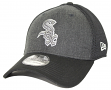 "Chicago White Sox New Era MLB 39THIRTY ""Heathered Black Neo"" Flex Fit Hat"