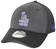 "Los Angeles Dodgers New Era MLB 39THIRTY ""Heathered Black Neo"" Flex Fit Hat"