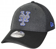 "New York Mets New Era MLB 39THIRTY ""Heathered Black Neo"" Flex Fit Hat"
