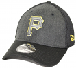"Pittsburgh Pirates New Era MLB 39THIRTY ""Heathered Black Neo"" Flex Fit Hat"