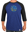 "Golden State Warriors Majestic NBA ""Excellent Attitude"" Men's 3/4 Sleeve T-Shirt"