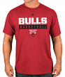 "Chicago Bulls Majestic NBA ""Proven Pastime 2"" Short Sleeve Men's T-Shirt"
