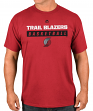Portland Trail Blazers Majestic NBA Proven Pastime 2 Short Sleeve Men's T-Shirt