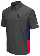 Mississippi Ole Miss Rebels NCAA The Bro Men's Performance Polo Shirt - Charcoal