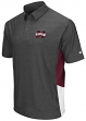 Mississippi State Bulldogs NCAA The Bro Men's Performance Polo Shirt - Charcoal