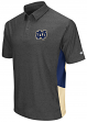 "Notre Dame Fighting Irish NCAA ""The Bro"" Men's Performance Polo Shirt - Charcoal"