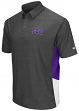 "TCU Horned Frogs NCAA ""The Bro"" Men's Performance Polo Shirt - Charcoal"
