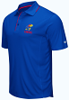 "Kansas Jayhawks NCAA ""Maestro"" Men's Performance Polo Shirt"