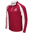 "Alabama Crimson Tide NCAA ""Peterman"" 1/4 Zip Pullover Men's Wind Shirt"