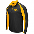 "Iowa Hawkeyes NCAA ""Peterman"" 1/4 Zip Pullover Men's Wind Shirt"