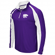 "Kansas State Wildcats NCAA ""Peterman"" 1/4 Zip Pullover Men's Wind Shirt"