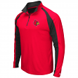 "Louisville Cardinals NCAA ""Peterman"" 1/4 Zip Pullover Men's Wind Shirt"