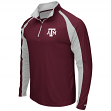 "Texas A&M Aggies NCAA ""Peterman"" 1/4 Zip Pullover Men's Wind Shirt"
